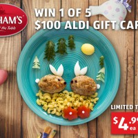 WIN 1 of 5 $100 Aldi Gift Cards!