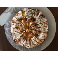 Easy Apricot Cake