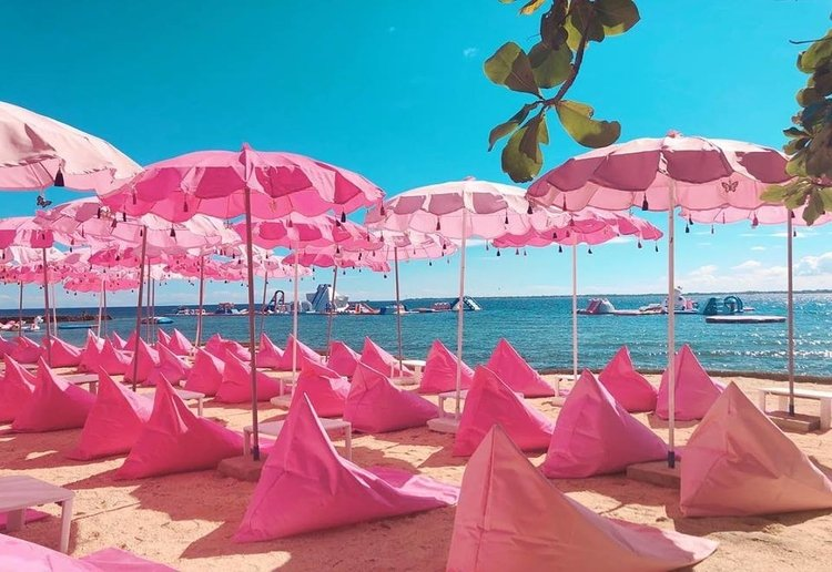 The Happy Beach Resort in Cebu Is A Pink Paradise