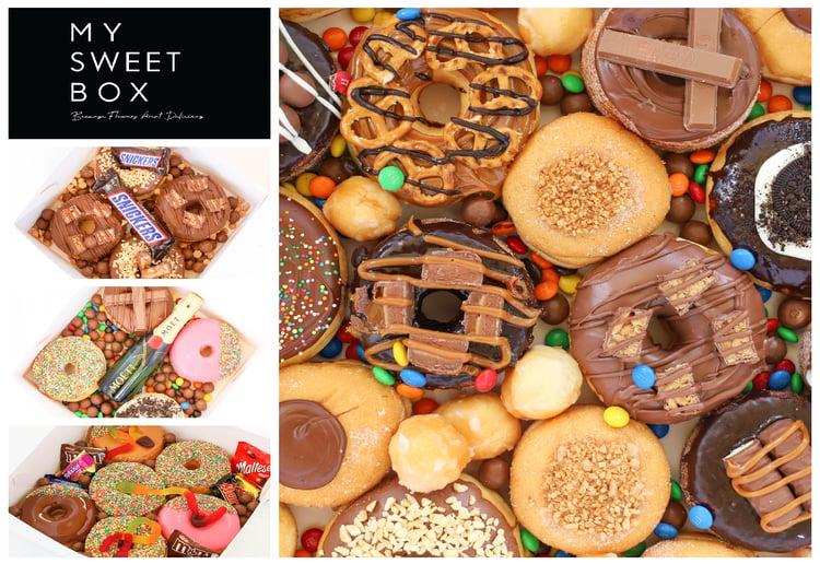 my sweet box doughnut box