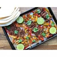 Easy Oven Baked Spicy Beef Fajitas