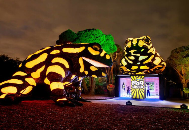 mom90758 reviewed Melbourne Zoo Lights Up For The School Holidays