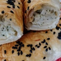 Chicken and Chestnut Sausage Rolls