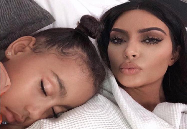 """Kim Kardashian Mum Shamed """"Give North a Book to Read"""""""