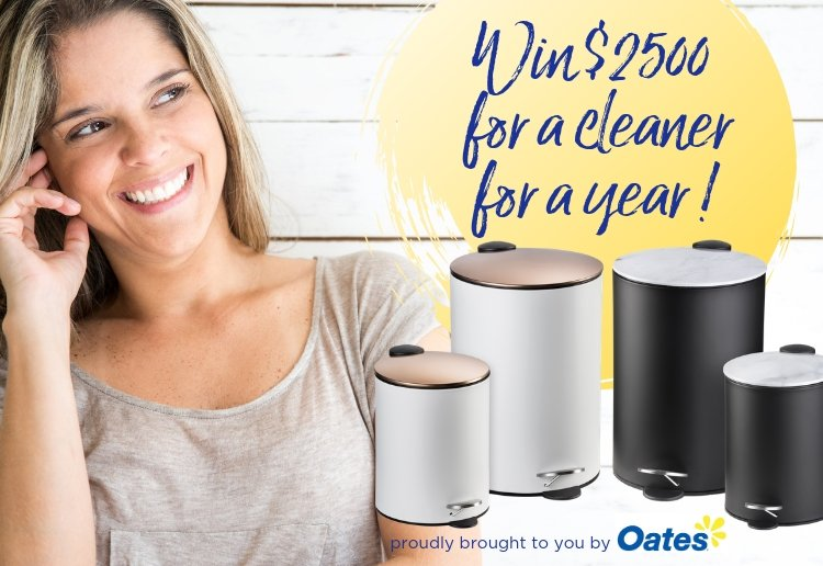 Win $2500 for a cleaner for a year with Oates!