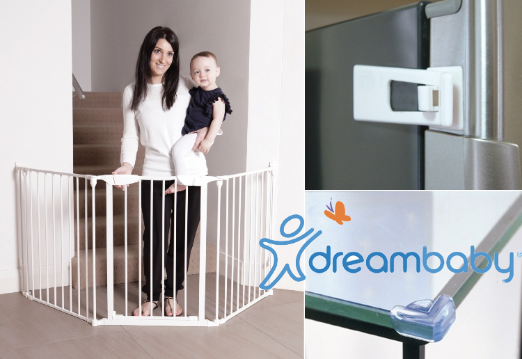 WIN 1 OF 4 Dreambaby® Safety Packs To Help Childproof Your Home