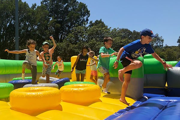 The World's Largest Inflatable Obstacle Course