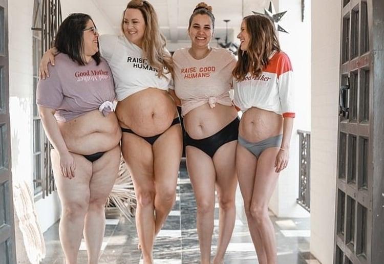 Mums Celebrate Post Birth Bodies