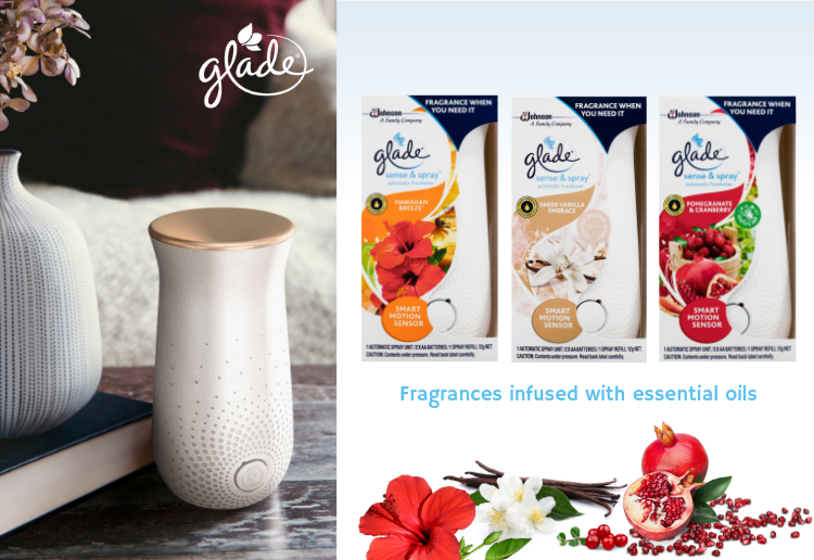 lmadg reviewed Glade Sense & Spray Automatic Freshener