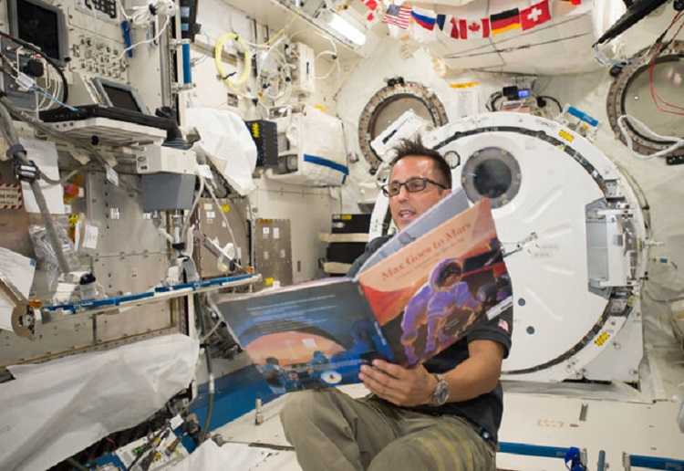 How to Watch Astronauts Read Popular Kids Books From Space