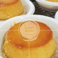 Sweet Rice Cake with Egg Custard