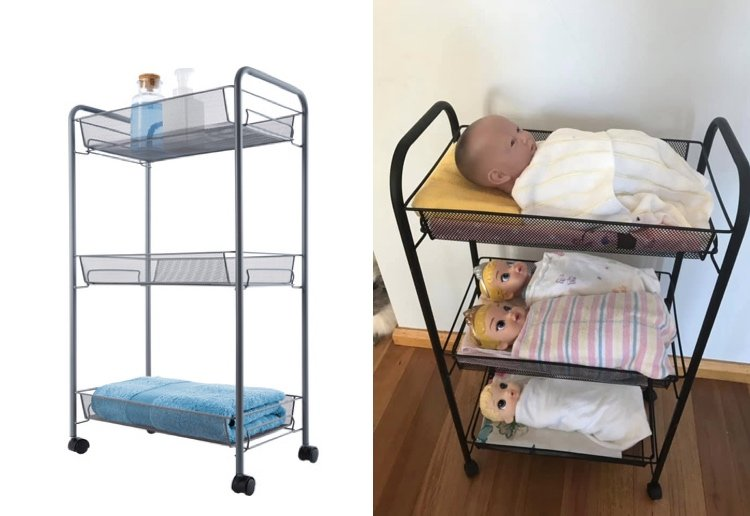 Baby-Obsessed Kids Are Going Crazy Over This $19 Kmart Doll's Bed Hack