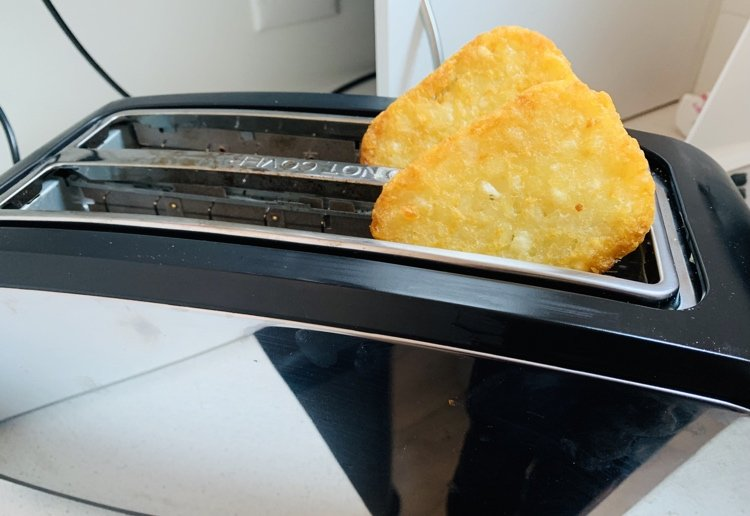 A review for I Made Hash Browns In The Toaster….And It Worked!