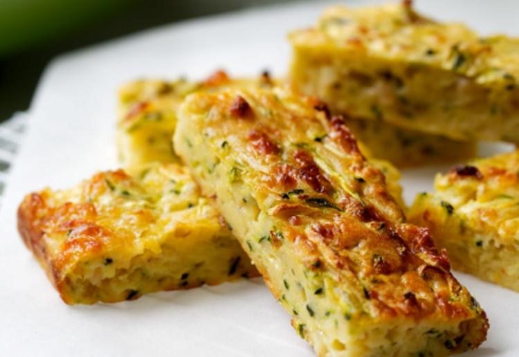 Fast Zucchini Slice
