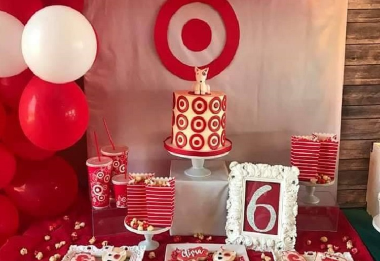 Little Girls Awesome 'Target Themed' Party