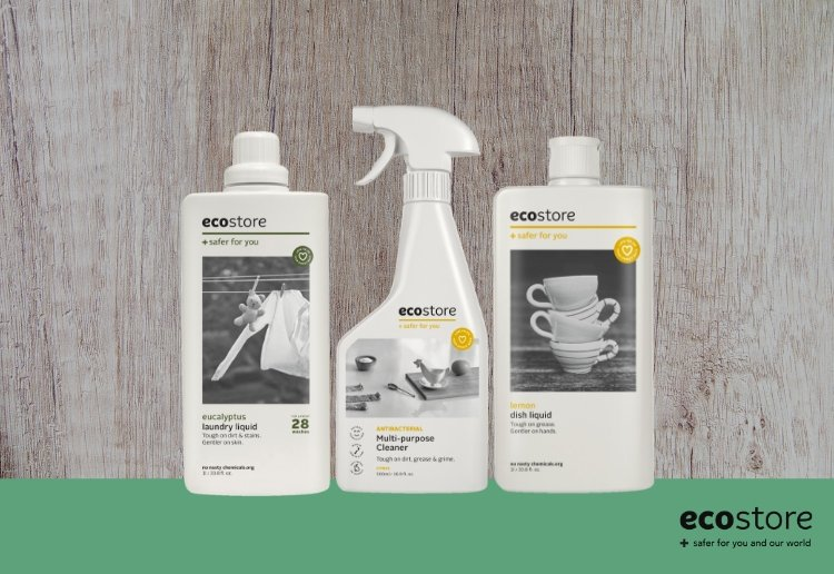 ecostore laundry and kitchen range