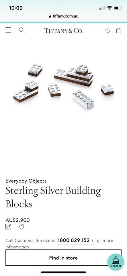 silver lego