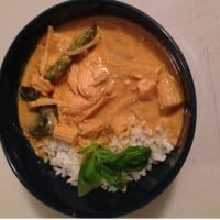 Mouth Watering Red Thai Chicken Curry!
