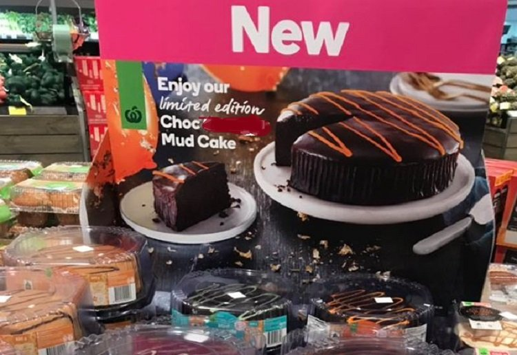 NEW Chocolate Mud Cake Flavour at Woolworths!