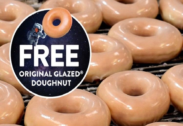 FREE! 100K Krispy Kreme Doughnuts Up For Grabs