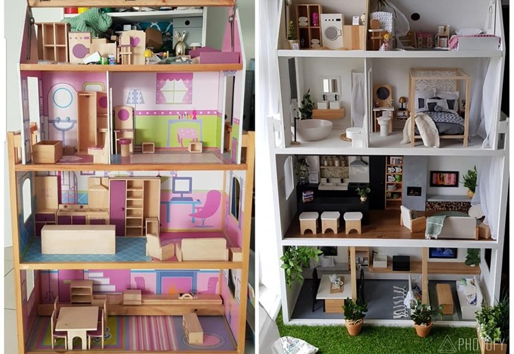 This Is The Most INCREDIBLE Dollhouse Makeover We Have Ever Seen