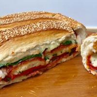 Gourmet Layered Cob Sandwich