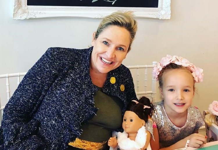 """Fifi Box Hosts """"Big Sister"""" Party for Daughter Trixie"""
