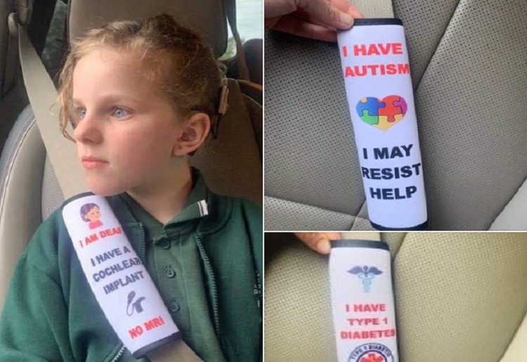 mom290396 reviewed Mums Clever Seatbelt Cover Idea Goes Viral
