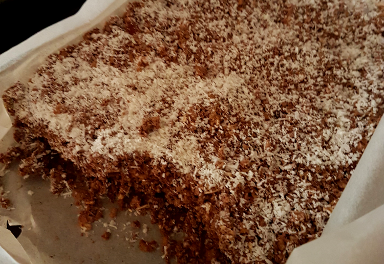 rachelvk reviewed Healthy choc slice