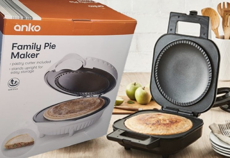 Blossom reviewed New Kmart Family Size Pie Maker Is Here!