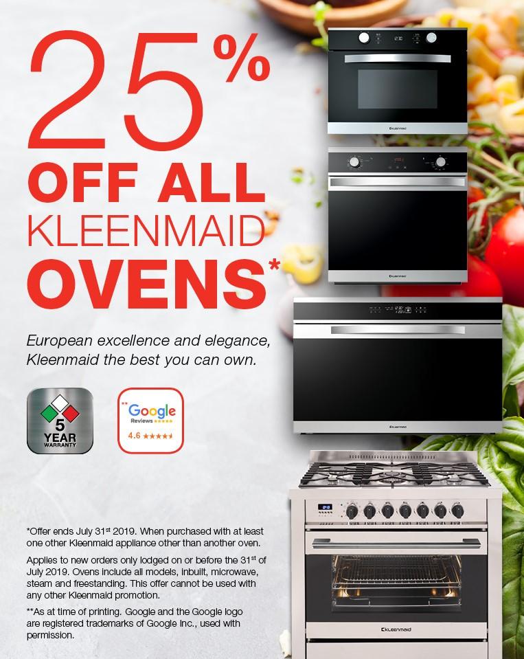July oven offer MoM_Kleenmaid