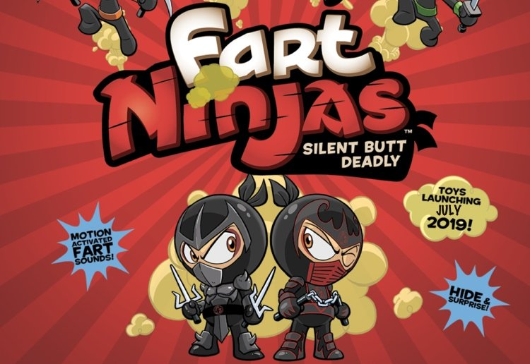 mom269397 reviewed WIN 1 Of 3 Fart Ninja Prize Packs – The Brand New 'Silent Butt Deadly' Collectible