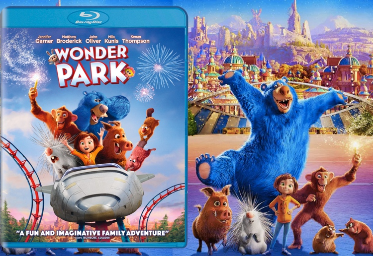 dvs1 reviewed WIN A Personalised Toy Based On Your Child's Drawings To Celebrate Wonder Park DVD Release
