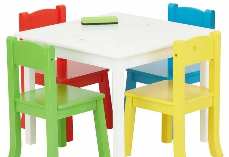mom152736 reviewed Big W Recall Popular Children's Table and Chairs Set