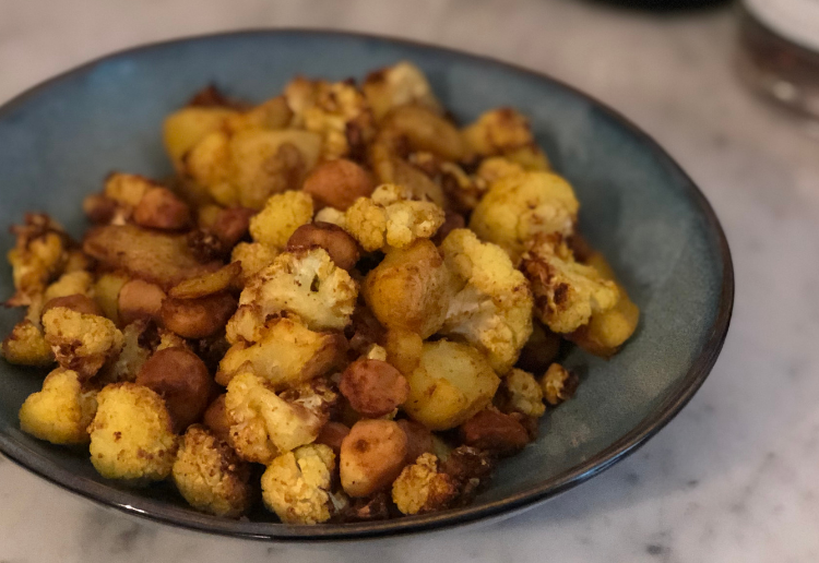 Crunchy Cauliflower Nibble Mix
