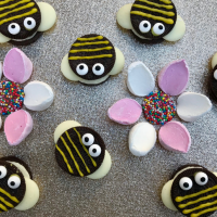 Easy Little Bee Biscuits
