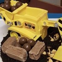 Digger cake hack