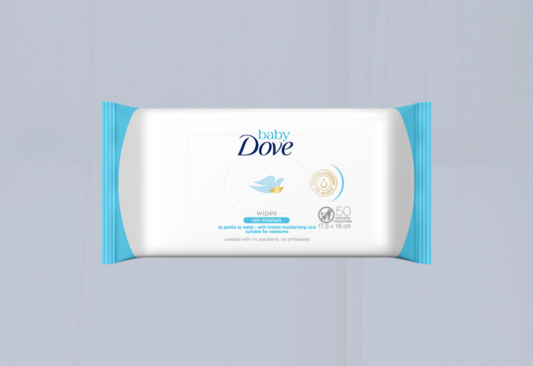 Jenrizk83 reviewed Baby Dove Rich Moisture Wipes