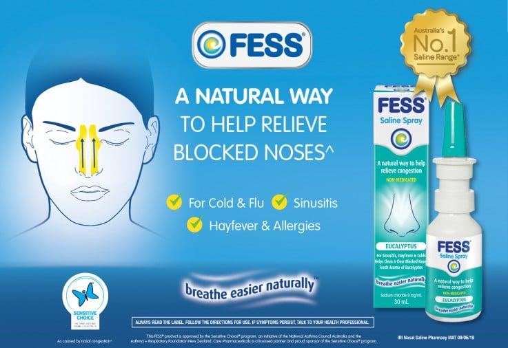 FESS® Eucalyptus Nasal Saline Spray Review