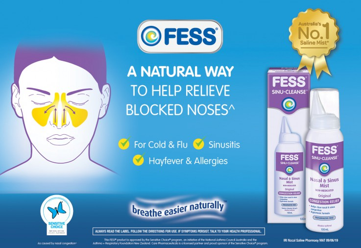 image for the FESS® SINU-CLEANSE Nasal & Sinus Mist Review