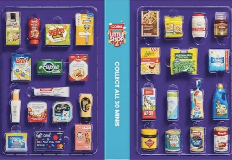 There's A New Bonus Coles Little Shop 2 Mini Collectable