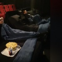 Aussie Movie Cinema Installs Double BEDS