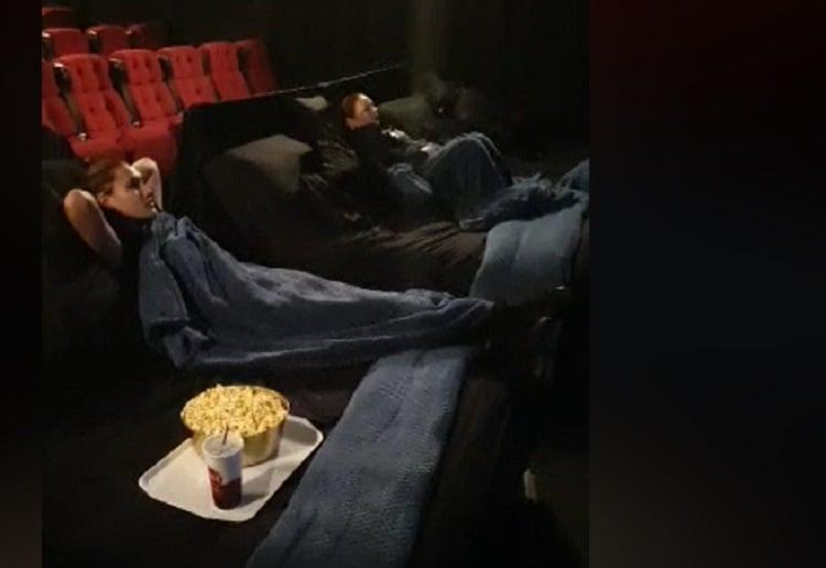 Aussie Movie Cinema Installs Double BEDS