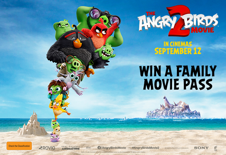 Win Family Tickets To The Angry Birds Movie 2