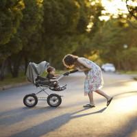 Mum Admits To Still Using Pram For Three-Year-Old