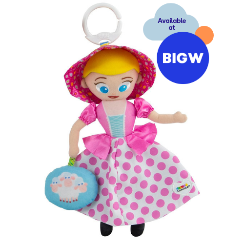 Picture of Bo Peep Clip n Go soft baby toy available at Big W