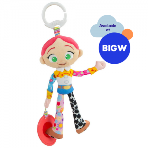 Jessie Clip n Go Soft Toy for Babies available from Big W