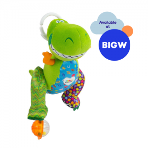 Rex Clip n Go soft toy for babies available at Big W