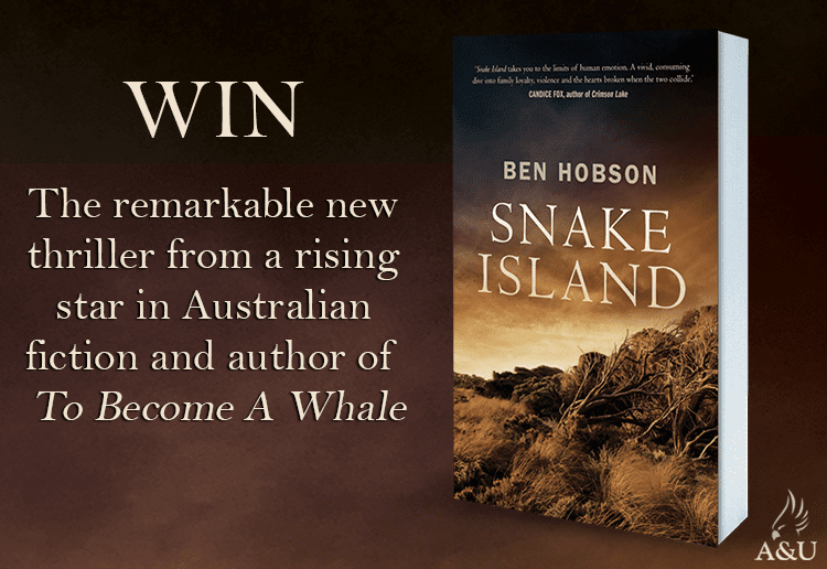 Win 1 of 20 Copies of Snake Island by Ben Hobson!