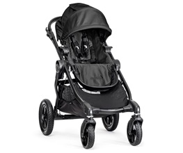 Image of Baby Jogger City Select Pram Black